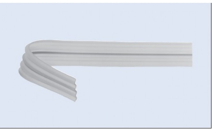 Гофриран дренажен лист 400 х 25мм