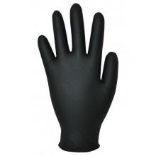 Ръкавици нитрил без пудра, черни