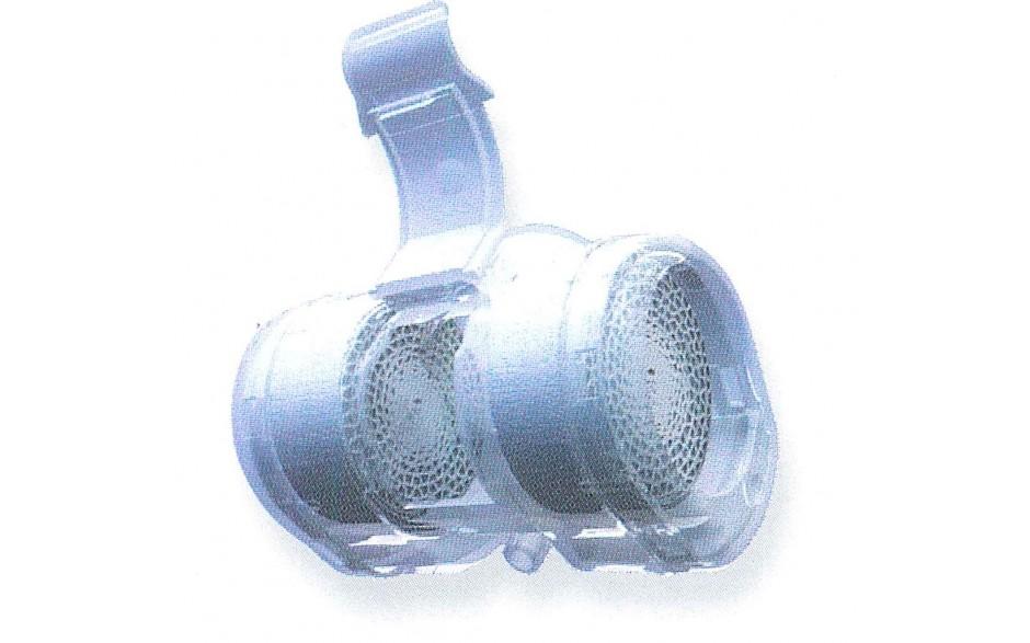 Филтър за трахеостомна канюла с порт за кислород