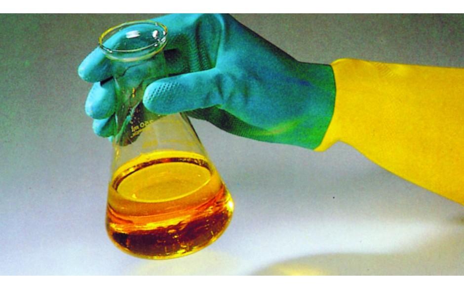 Ръкавици индустриални, латекс, двуцветни