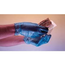 Ръкавици винил без пудра, сини