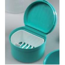 Кутия за зъбни протези, с капак