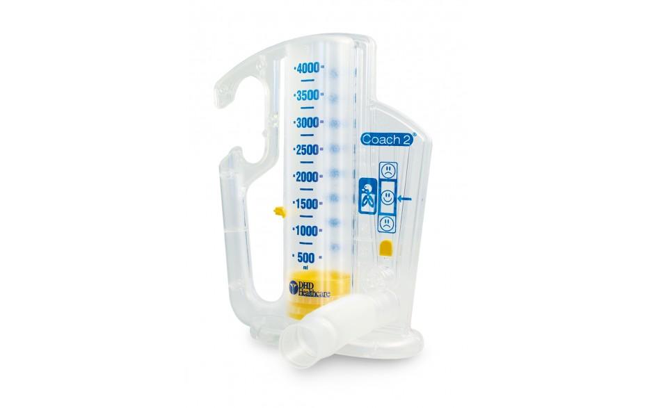 Спирометър за дихателни упражнения